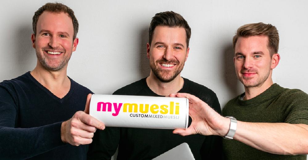 mymuesli-Gründer Philipp, Max und Hubertus