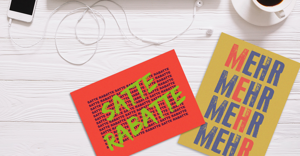 Werbepostkarten an Kunden verschicken mit EchtPost