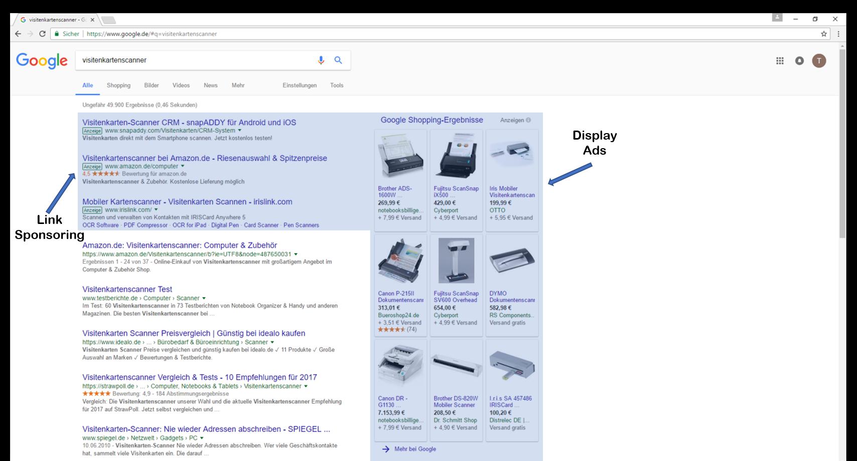 Alles zu Search Engine Advertising (SEA) und Google AdWords