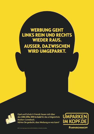 Erfolgreiche Image-Kampagne von Opel / Scholz&Friends